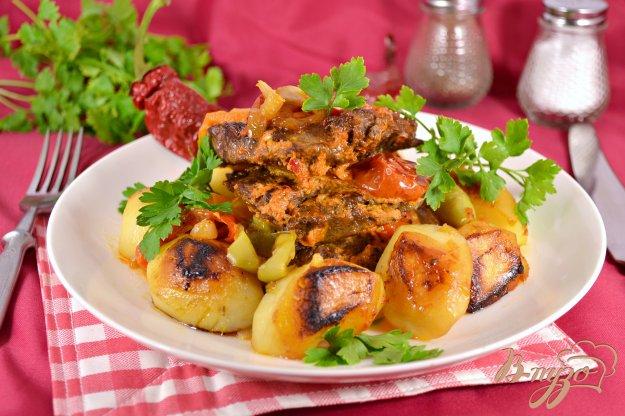 фото рецепта: Острая говядина с овощами