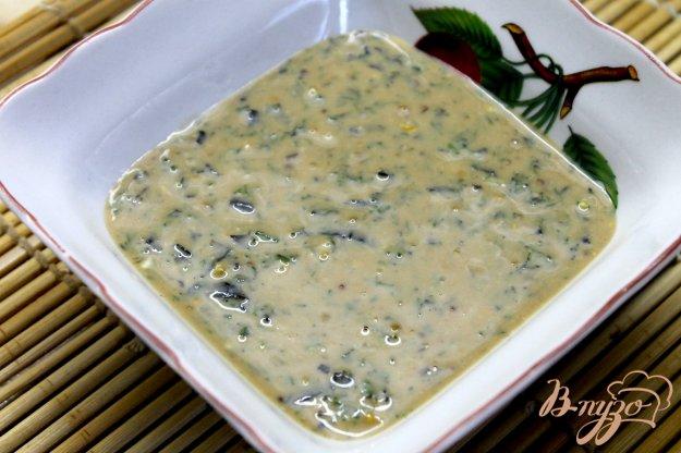 фото рецепта: Горчичный соус к рыбе