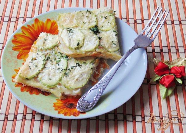 фото рецепта: Запеканка из тыквы, кабачков и картофеля