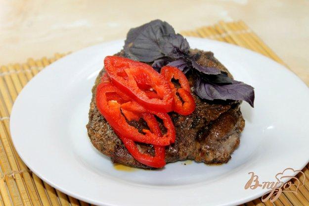 фото рецепта: Свинина маринованная с болгарским перцем