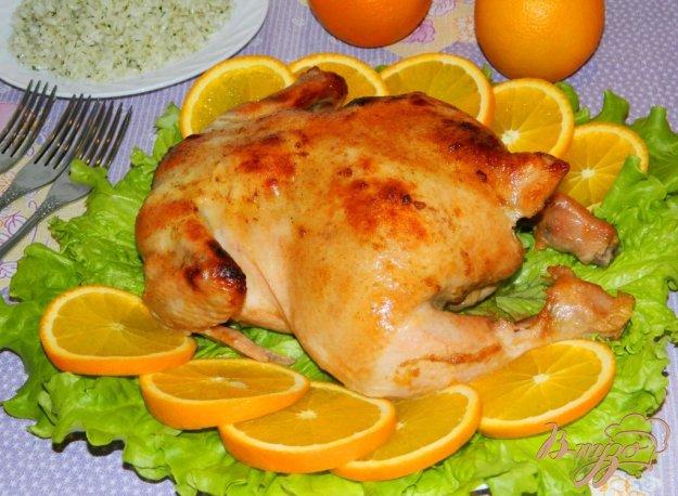 фото рецепта: Курица в апельсиновом соусе