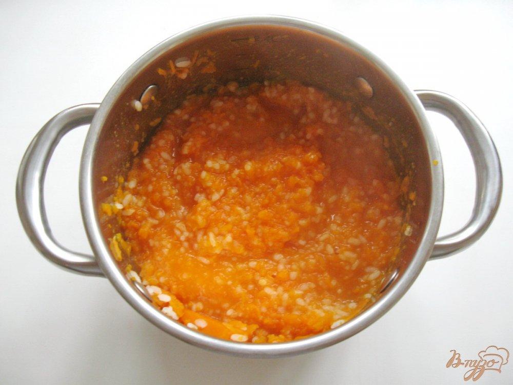 Каша из тыквы с рисом пошаговый рецепт с