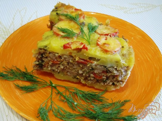фото рецепта: Запеканка с картофелем и фаршем