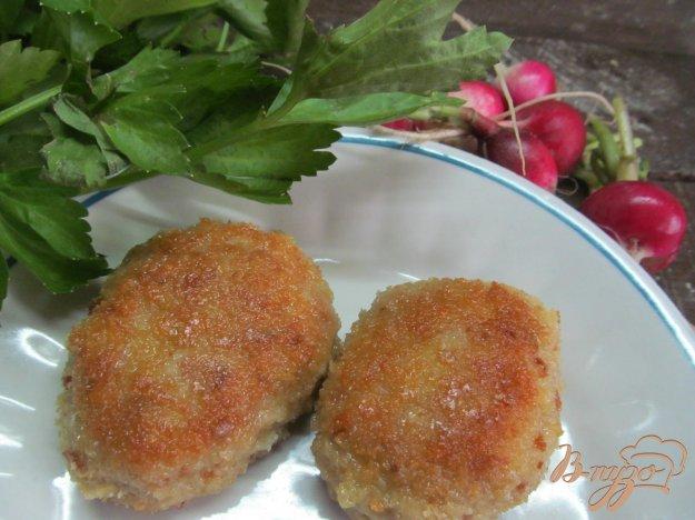 фото рецепта: Котлеты в панировке из сухарей