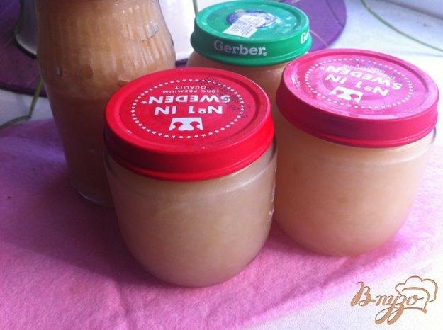 фото рецепта: Яблочно - грушевое пюре для маленьких