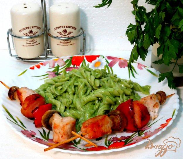 фото рецепта: Паста со шпинатом