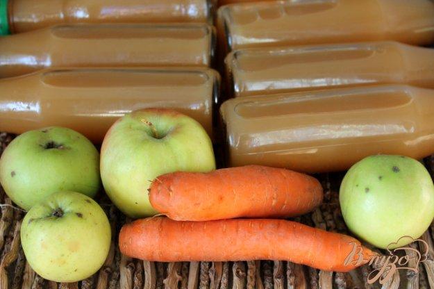 фото рецепта: Сок яблочно-морковный