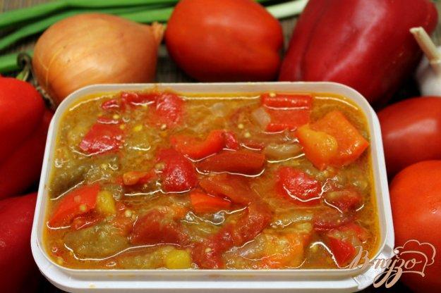 фото рецепта: Овощное гювече замороженное на зиму