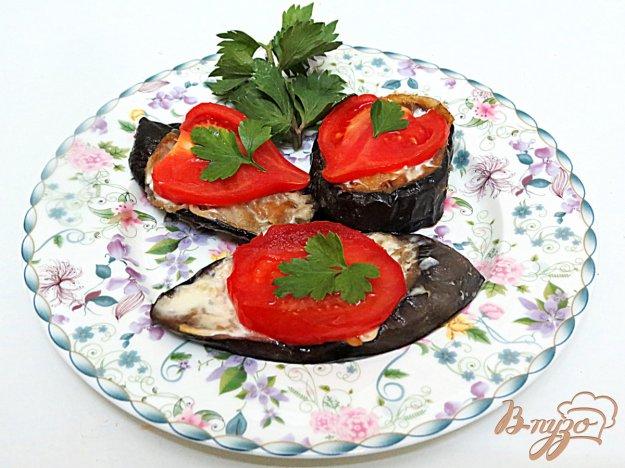 фото рецепта: Баклажаны с помидорами