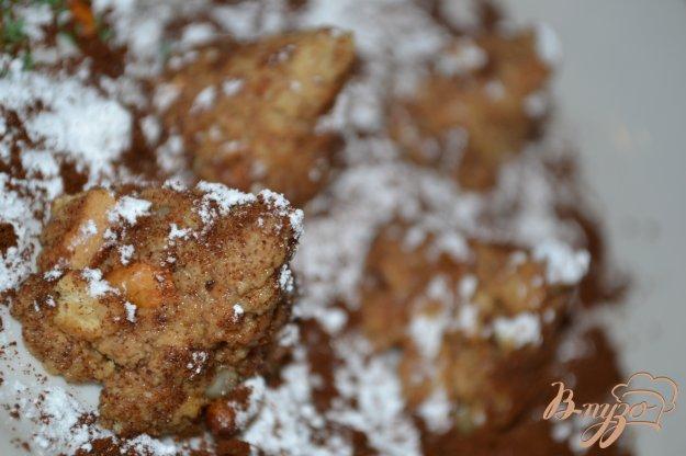 фото рецепта: Кофейные трюфели с кедровыми орешками