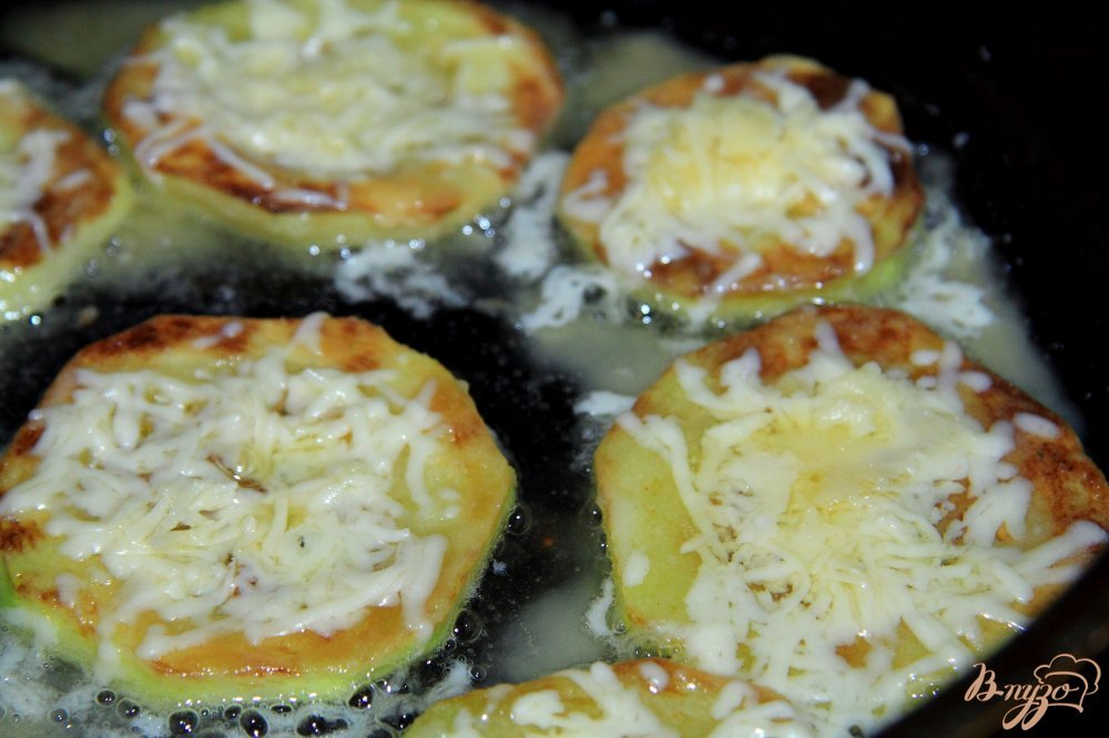 Рецепт жареные кабачки с помидорами 141