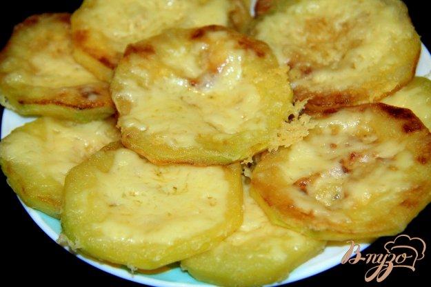 фото рецепта: Жареные кабачки с сыром