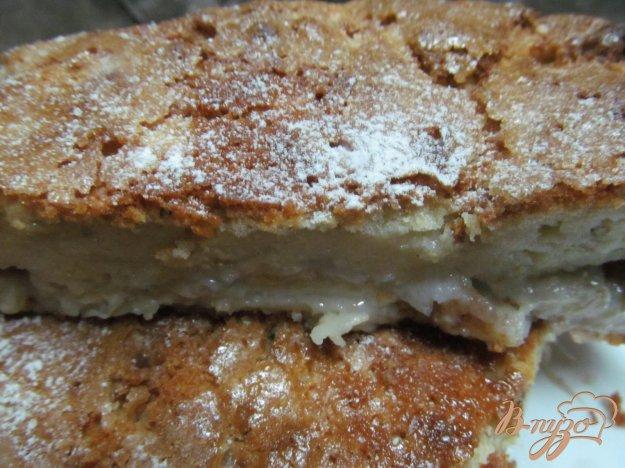 фото рецепта: Заливной пирог с бананом