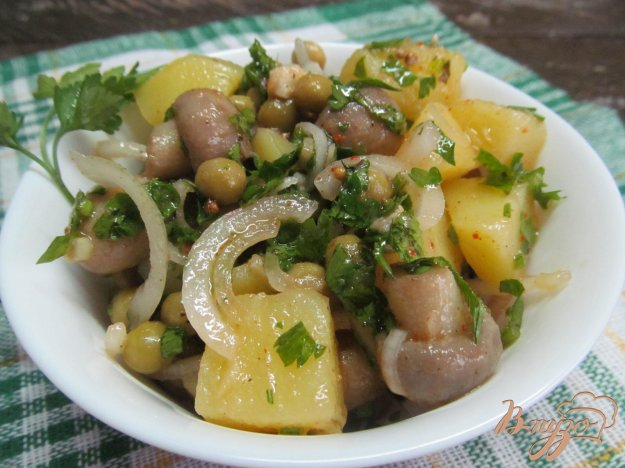 Деревенский салат рецепт с картошкой