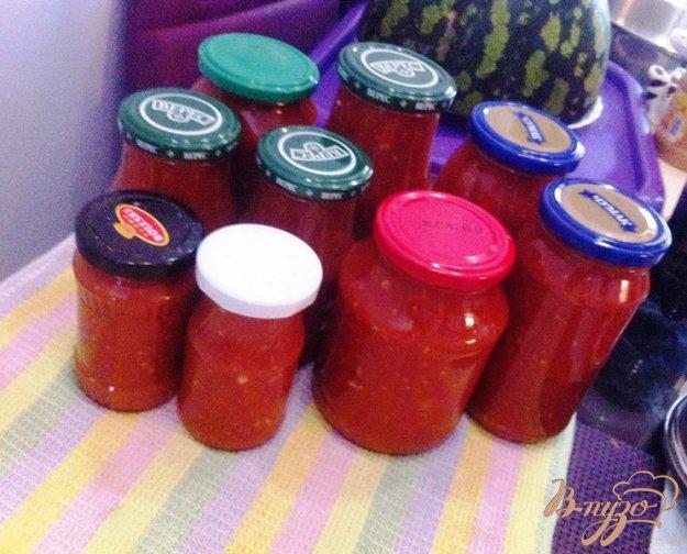 фото рецепта: Аджика острая с помидорами