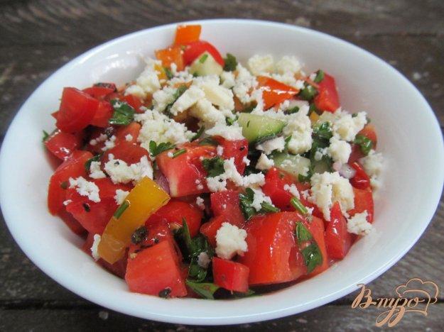 фото рецепта: Овощной салат Шопский