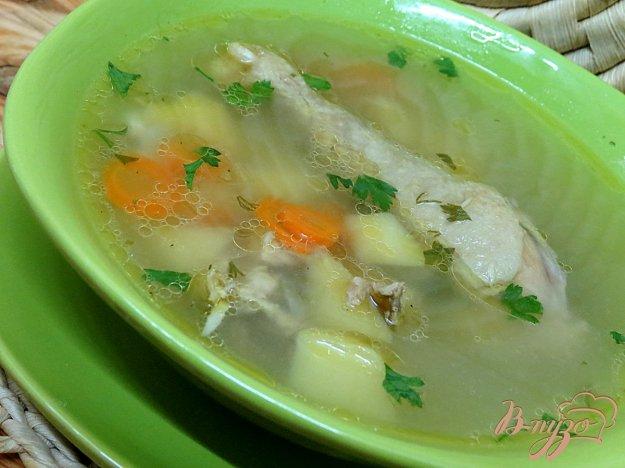 фото рецепта: Суп картофельный, на курином бульоне