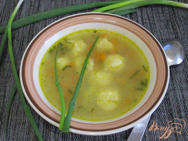 фото рецепта: Суп с клецками из сыра