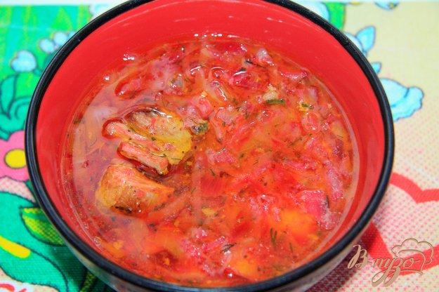 суп из капусты и свёклы