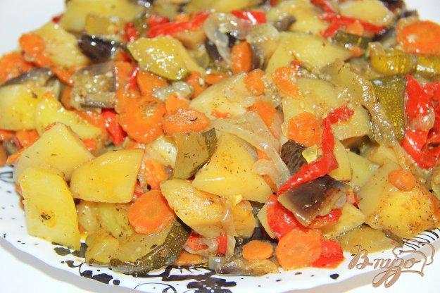 фото рецепта: Овощи запеченные в рукаве
