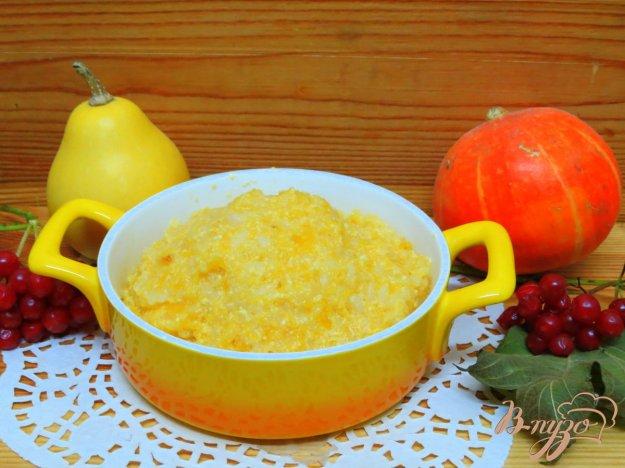 Рецепт пошагово тыквенной каши с рисом