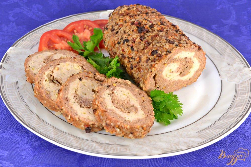Праздничное диетическое мясное блюдо