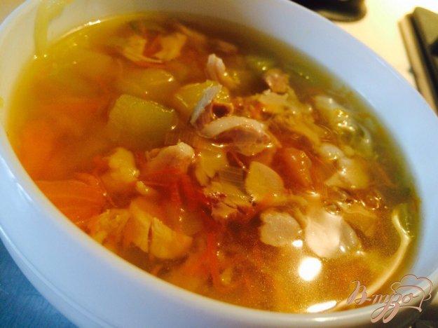 фото рецепта: Овощной суп из кролика для деток