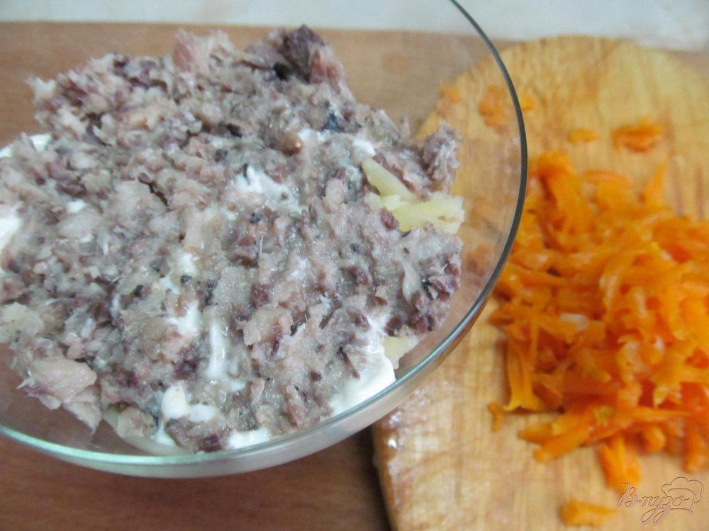 Салат с консервой рецепт с
