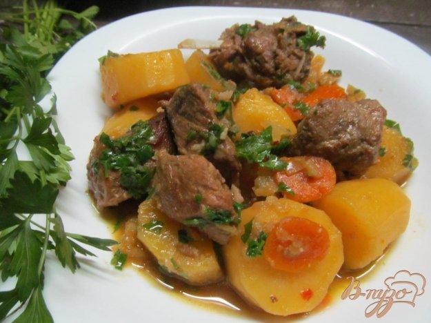 фото рецепта: Маринованная свинина с овощами
