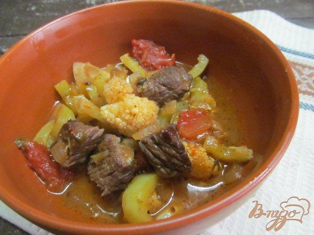 фото рецепта: Лагман из баранины и цветной капусты