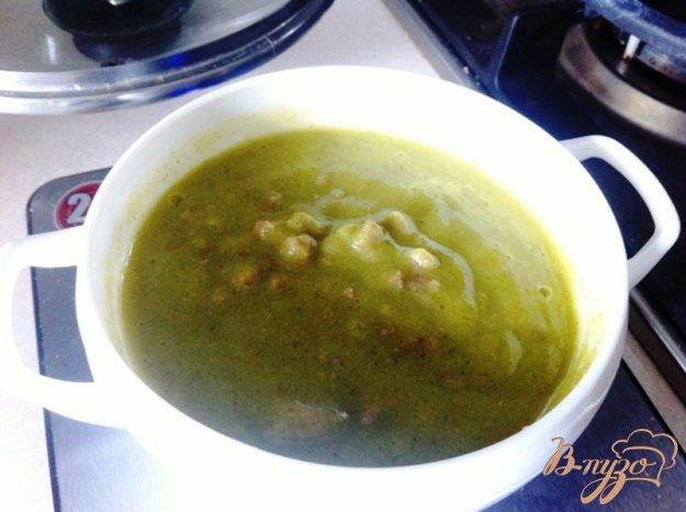 фото рецепта: Суп-пюре из брокколи с телятиной для деток