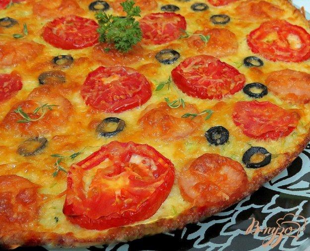 кабачковая пицца пошаговый рецепт с фото