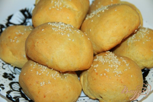 Булочки с кунжутом рецепт с фото пошагово