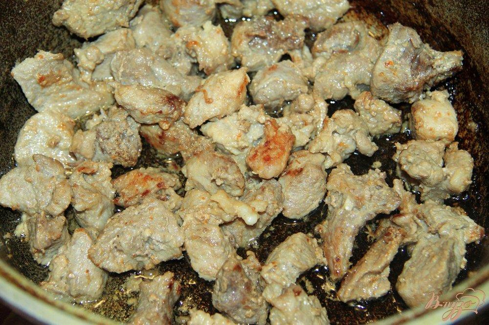 Плов из свинины рецепт с пошагово в сковородке