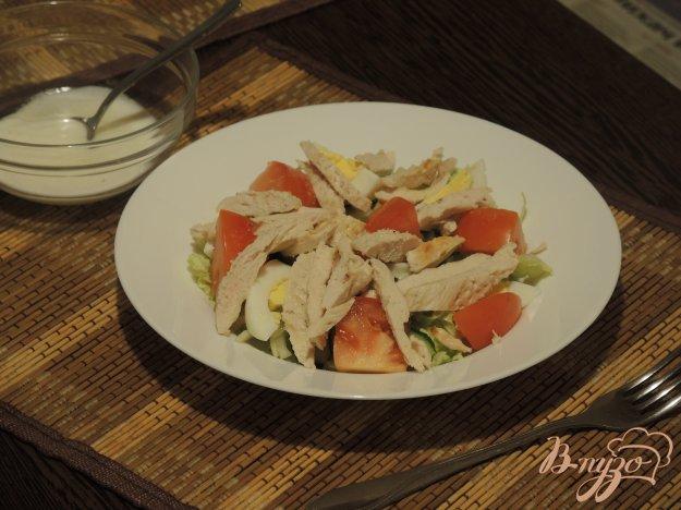 фото рецепта: Салат с курицей