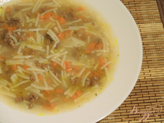 фото рецепта: Суп макароны по-флотски
