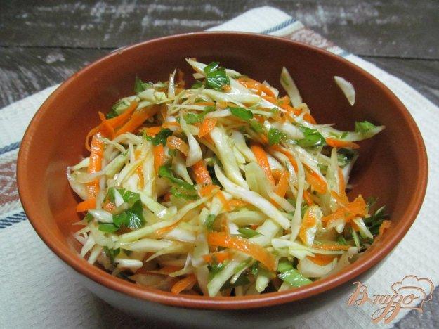фото рецепта: Коулслоу из капусты с морковью и зирой