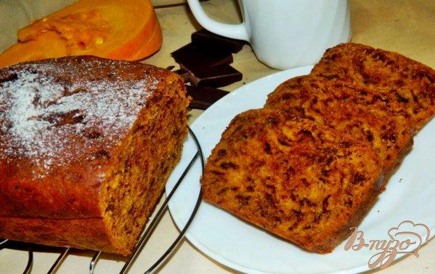 фото рецепта: Тыквенный кекс с шоколадом