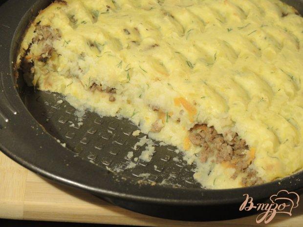 Запеканка картофельная с фаршем на сковороде пошаговый рецепт с