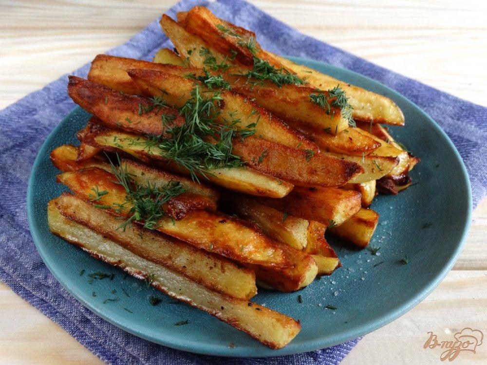 Картошка фри без фритюрницы