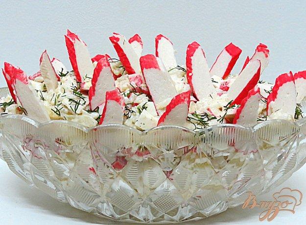 фото рецепта: Салат из крабовых палочек