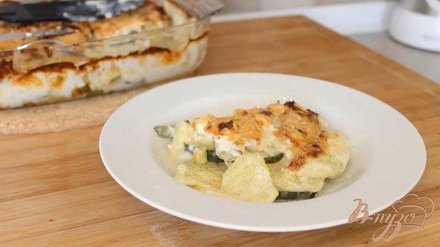 фото рецепта: Запеканка картофельно-кабачковая