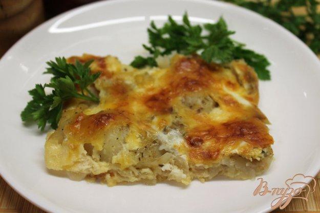 фото рецепта: Минтай под сырной корочкой