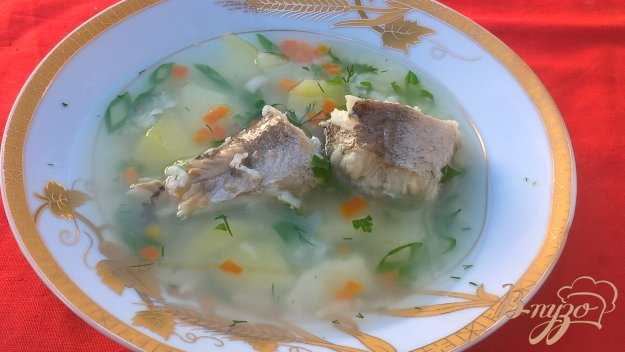 фото рецепта: Рыбный суп с минтаем
