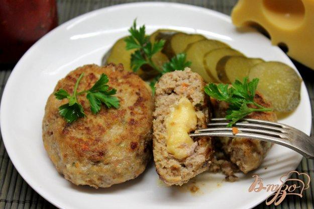 фото рецепта: Котлеты с корнеплодами и сыром