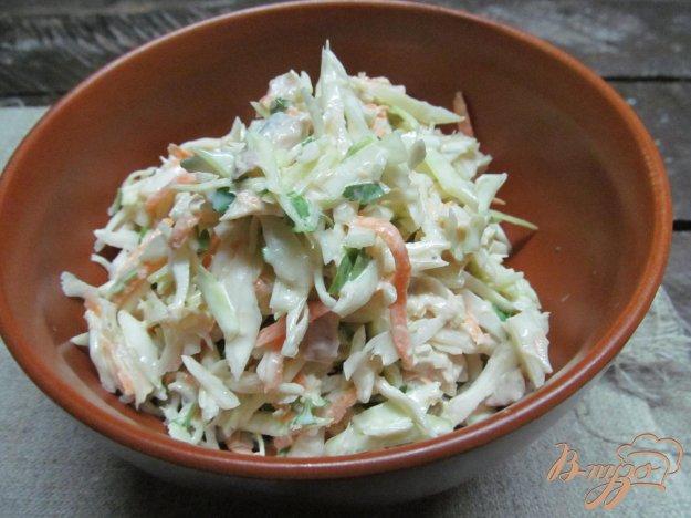 фото рецепта: Салат из капусты с мясом