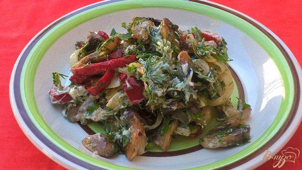 салаты рецепт с шампиньонами и картофелем рецепт