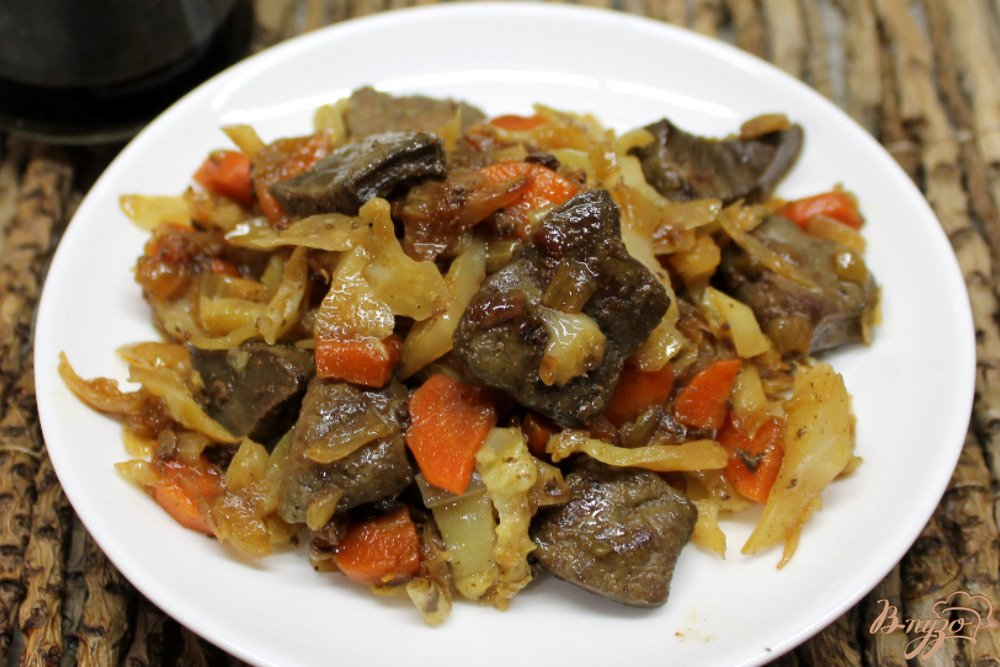 Рецепт мясо с овощами с пошагово