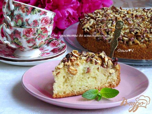 фото рецепта: Яблочный пирог с орехами
