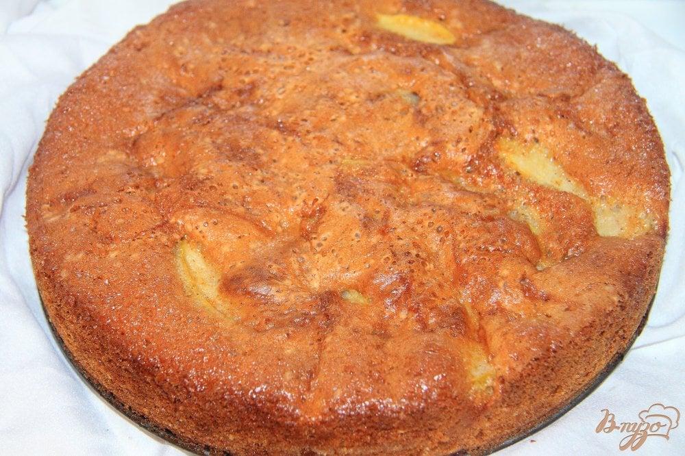 Яблочный пирог с фото пошагово в духовке кефир
